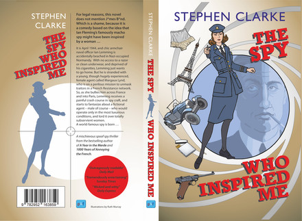 Signed copies of The Spy Who Inspired Me